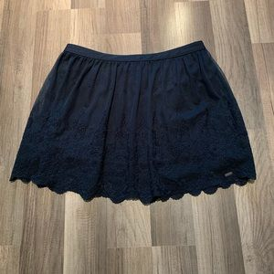 Hollister skirt (M) Navy